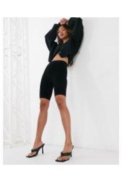 Just Female - Grease - Pantaloncini leggings neri-Nero(122287490)
