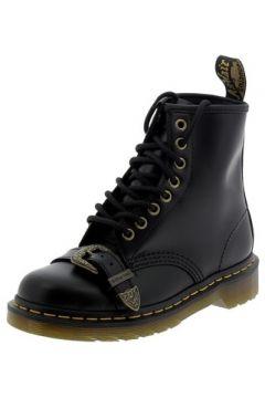 Boots enfant Dr Martens 1460 BUCKLE NERI(115478090)