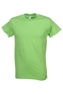T-shirt Gildan Heavy lime mc coton(127858084)