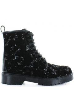 Boots Stokton Bottines Velours Noir(101554280)