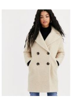 Miss Selfridge - Cappotto teddy bear lungo crema(120388616)