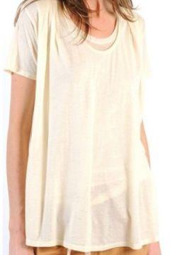 T-shirt American Vintage TOP BEL20E11 NATUREL(98751369)