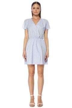 Network Kadın Mavi Beyaz Çizgili Mini Elbise 42 EU(118330174)
