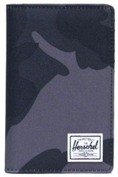 Herschel Erkek Search Lacivert Kamuflaj Desenli Cüzdan Siyah EU(118374731)