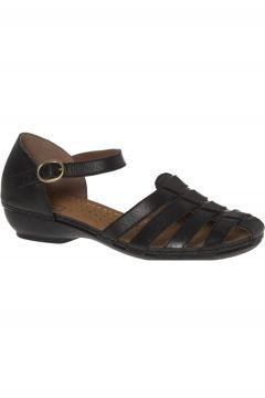 Easy Street Kadın Siyah Sandalet(119985183)