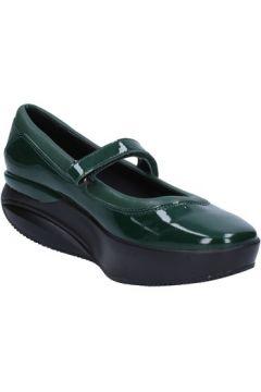 Ballerines Mbt ballerines vert cuir verni cuir AC277(115393587)