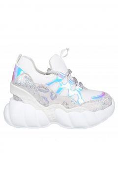 Guja 20y310-3 Dolgu Topuk Beyaz Kadın Sneakers(114214813)