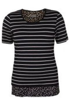 Shirt mit Streifenmuster Doris Streich Bast(111503756)