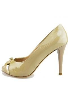 Chaussures escarpins Del Gatto escarpins beige cuir verni AG605(115393497)