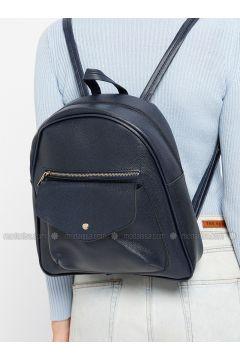 Navy Blue - Backpacks - Vip Moda(110318673)