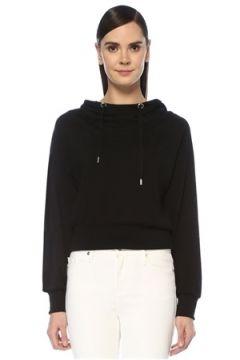 Allsaints Kadın Rita Siyah Kapüşonlu Sweatshirt S EU(107373545)