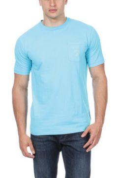 T-shirt Ruckfield T-shirt bleu avec poche(115484521)