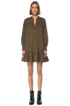 Academia Kadın Haki Fırfır Detaylı Mini Elbise 42(121299389)
