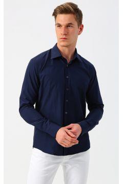 İgs Lacivert Uzun Kollu Gömlek(125171204)