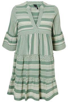 VERO MODA Printed Tunic Dress Damen Grün(111139961)