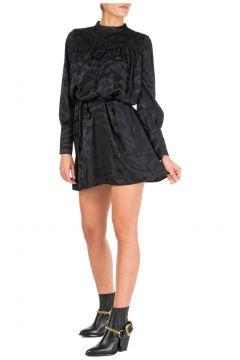 Women's short mini dress long sleeve(126703053)