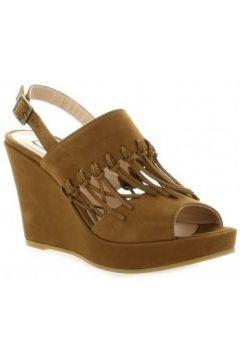 Sandales Benoite C Nu pieds cuir nubuck(127908962)