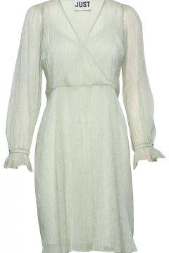 Sanne Dress Kurzes Kleid Grün JUST FEMALE(114164829)