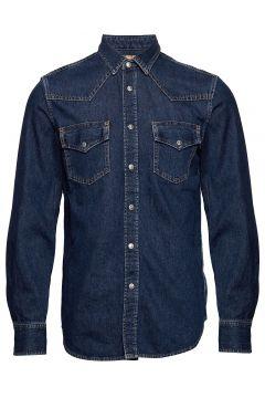 D-East-P Shirt Hemd Casual Blau DIESEL MEN(104956040)
