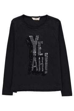 T-Shirt Yeah Pailletten Ress(113612235)