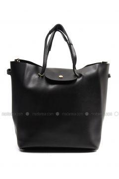 Black - Shoulder Bags - Sapin(110326396)