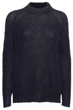 Siri Alpaca Blend Sweater Strickpullover Blau LEXINGTON CLOTHING(119860062)