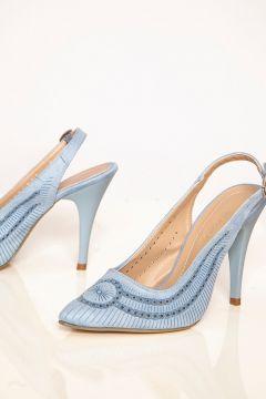 Chaussures à Talons Ayakkabı Havuzu Bleu(119068217)