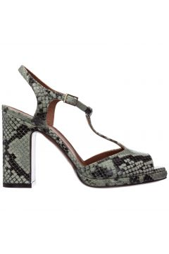 Women's leather heel sandals(117763853)