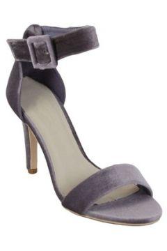 Chaussures escarpins Kebello Escarpins à bout ouvert F Gris(115463662)
