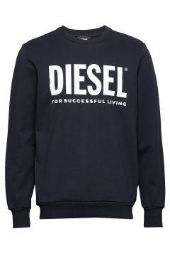 S-Gir-Division-Logo Sweat-Shirt Sweat-shirt Pullover Blau DIESEL MEN(113823000)