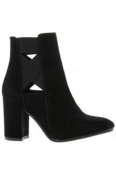 Bottines Nuova Riviera Boots cuir velours(127908775)