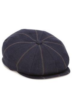 Brunello Cucinelli Erkek Lacivert Çizgili Şapka L EU(126848143)