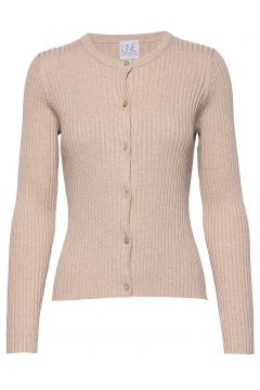 Ryan Tencel Cardigan Strickpullover Beige LINE OF OSLO(114152875)