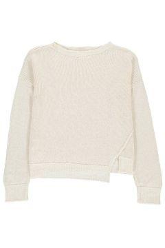 Pullover aus Baumwolle und Leinen(117873774)