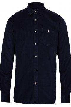 Baby Cord Shirt Hemd Casual Schwarz KNOWLEDGE COTTON APPAREL(117426452)