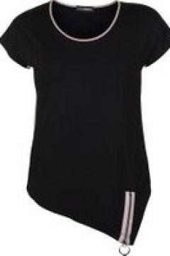 Shirt mit Zipper am Saum Doris Streich Bast(111507077)