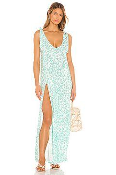 Макси платье lily - Beach Bunny(115076127)