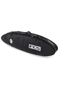 FCS Travel 3 All Purpose Surfboard Bag - Black Grey(110360634)