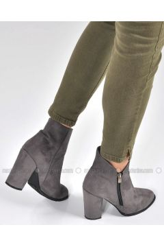 Gray - Boot - Boots - Vizon(110330341)
