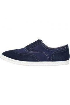 Baskets Docksteps sneakers bleu daim textile AG851(115393548)