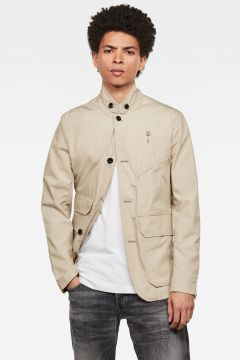G-Star RAW Men Utility 4-button Blazer Beige(117926745)
