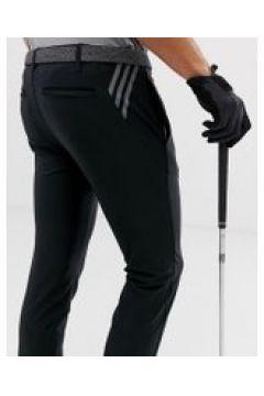Adidas Golf - Ultimate 365 - Schmal zulaufende Hose mit 3 Streifen in Schwarz - Schwarz(92552356)