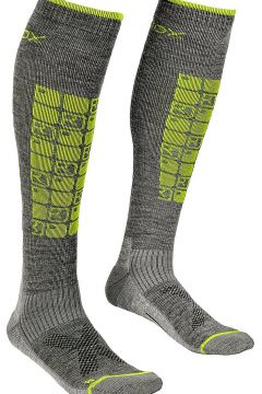Ortovox Ski Compression Tech Socks grijs(85181788)
