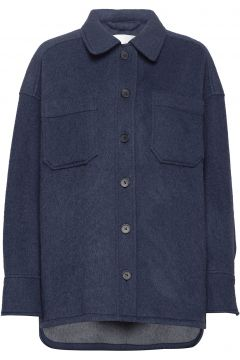 Sealiner Wool Wolljacke Jacke Blau FALL WINTER SPRING SUMMER(114154255)