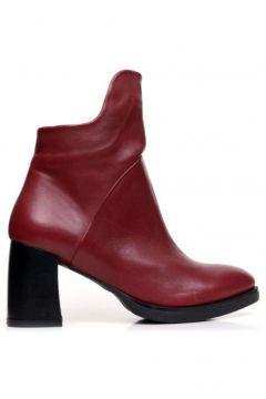 BUENO Shoes Fermuarlı Hakiki Deri 8 cm Kadın Topuklu Bot 9p3301(124974029)