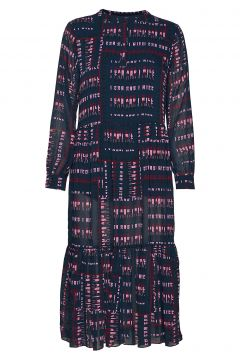 Dhwill Dress Kleid Knielang Blau DENIM HUNTER(114163220)