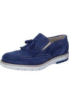 Chaussures Kep\'s By Coraf KEP\'S mocassins bleu daim BZ886(88515248)