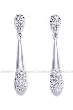 Silver tone - Earring - Monemel(110312805)