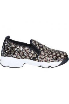 Chaussures J. K. Acid slip on bronze paillettes noir BX746(115442635)