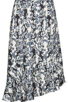 Ellie Skirt Knielanges Kleid Blau BY MALINA(114165383)